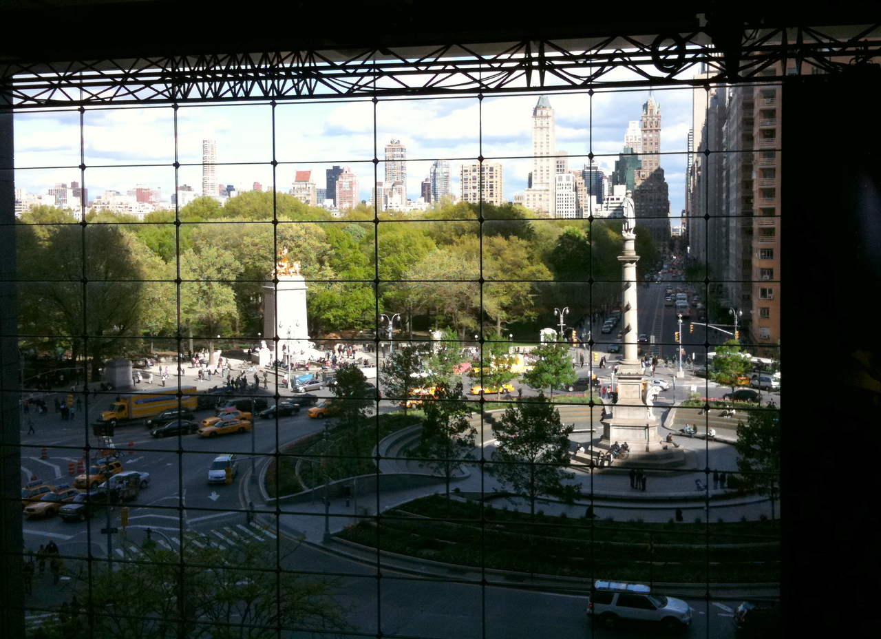Columbus Circle from the Time Warner Building