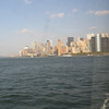 Leaving Manhattan on the Staten Island Ferry