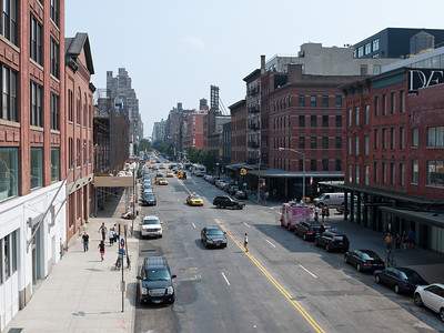 View from High Line, NY NY.  Taken with Nikon D90 and Nikkor 24-70-mm  lens. Processed with Photoshop CS5.