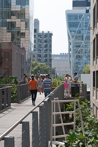 View of High Line, NY NY.  Taken with Nikon D90 and Nikkor 24-70-mm  lens. Processed with Photoshop CS5.