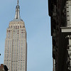 The Empire State Building as seen from Madison Square Park