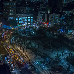 Union Square from the W