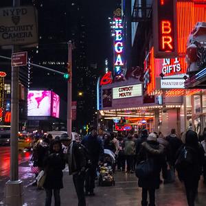 Near Times Square, B.B. Kings