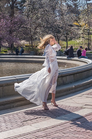 Model Photo Shoot: Central Park