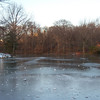 Frozen Pond in Central Park