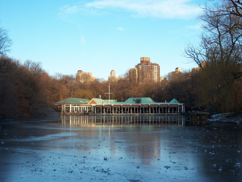 Boathouse in Central Park