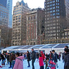Skaters in Bryant Park