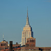 Empire State Building as viewed from Brooklyn Bridge Park