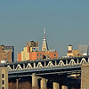 Top of the Chrysler Building as viewed from Brooklyn Bridge Park