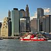 Downtown Manhattan as viewed from Brooklyn Bridge Park