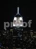 Empire State Bldg from the Rockefeller Center