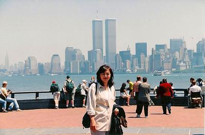 6/11/99 Liberty Island.