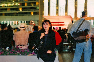 6/12/99 In the lobby of 2 WTC.