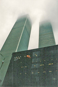 10/8/99 A foggy morning at WTC (my ops manager's training session).