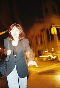 October 1999. Arleen in Soho (NY trip for Morgan Stanley's CSR Training at the World Trade Center). New York City, NY.