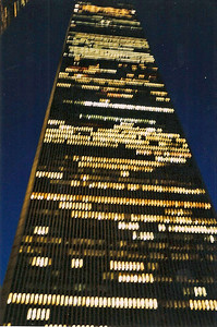 6/11/99 One of the World Trade towers.
