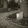 11-mile stone, Morris-Jumel Mansion<br /> <br /> iPhone photo