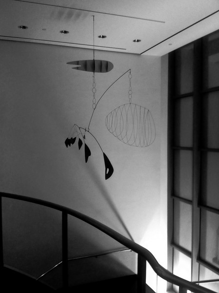 Alexander Calder Mobile in MoMA<br /> <br /> iPhone photo