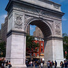 Washington Square Arch, Greenwich Village, NYC