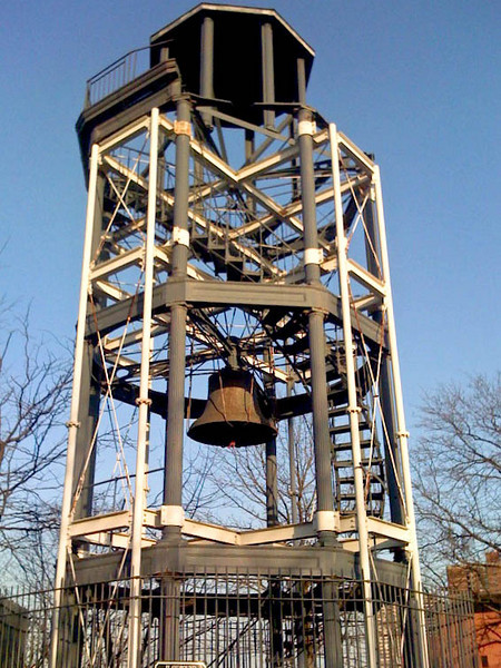 Mt. Morris Park Fire Bell Tower, Harlem, NYC