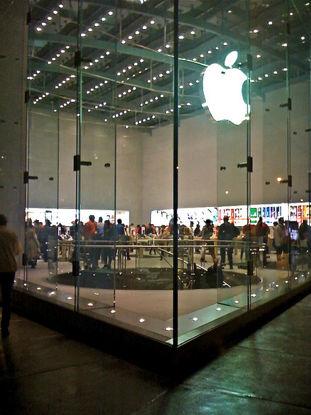 Apple store, Upper West Side, NYC