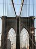 Brookly Bridge 2<br /> OK, kind of a standard shot.  Still, the geometry is fun..