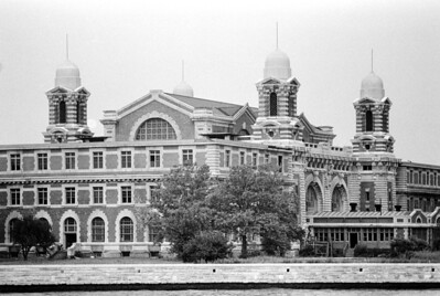 Ellis Island, before it closed for renovation