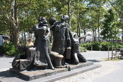 """The Immigrants"", Castle Garden, Battery Park, NYC"