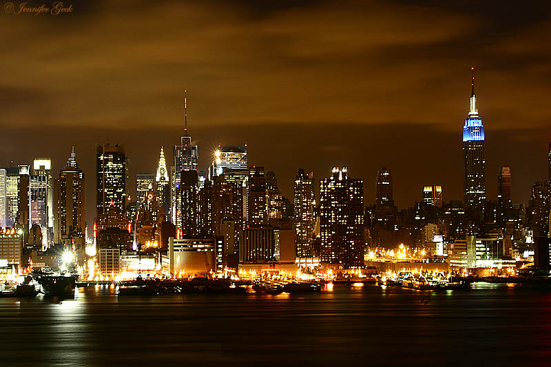 NYC Skyline<br> Taken from Weehawken, NJ