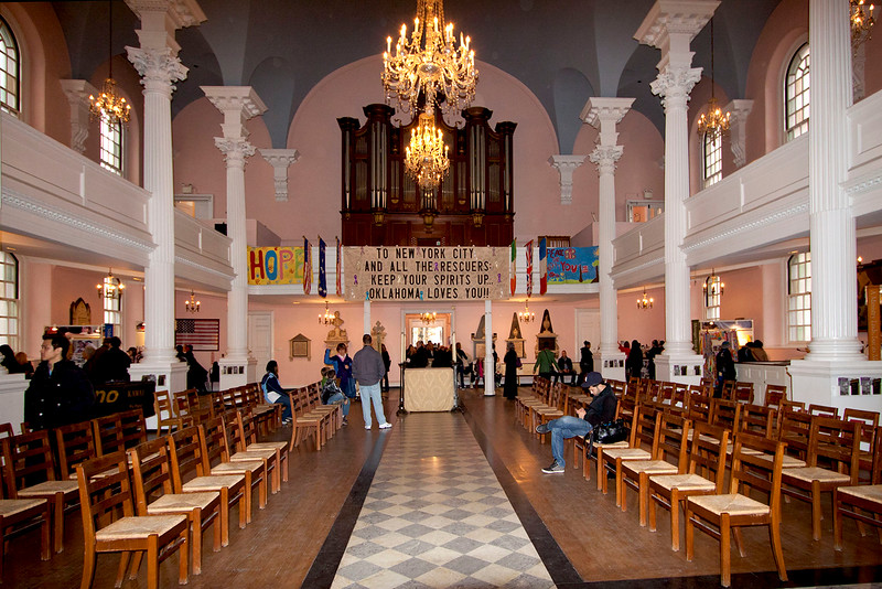 St  Paul's Chapel Interior