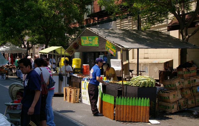Street festival in the East Village.
