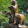 Central Park Bear Statues