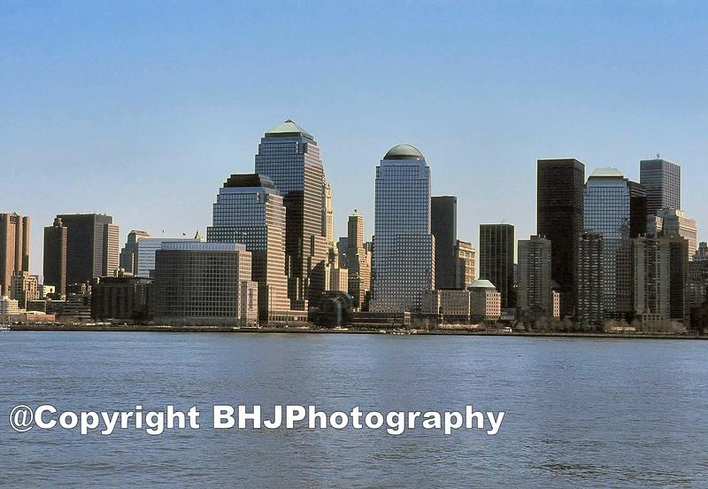 World Trade Center complex after 9/11