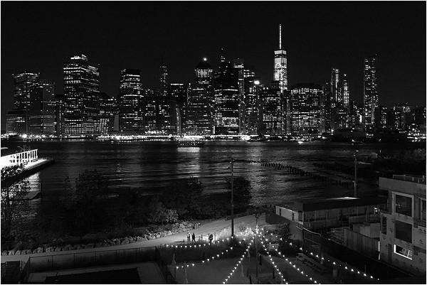 Manhattan from Brooklyn Heights Promenade. October 10, 2015.