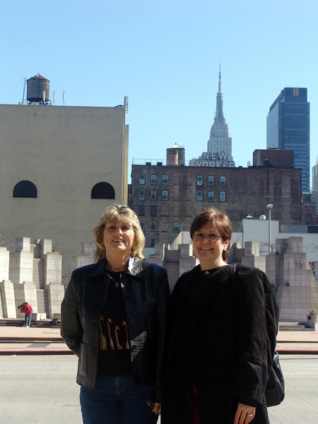 Dee and Dina in New York.