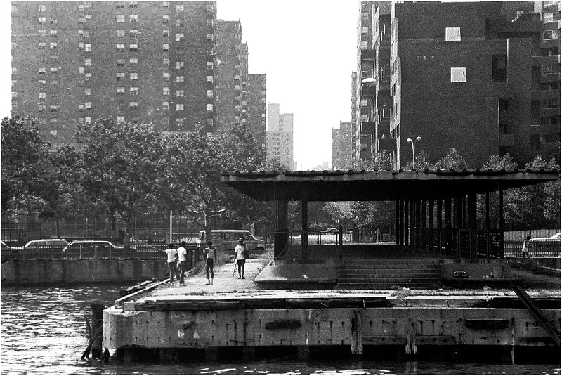East River at 111th Street. July, 1980.