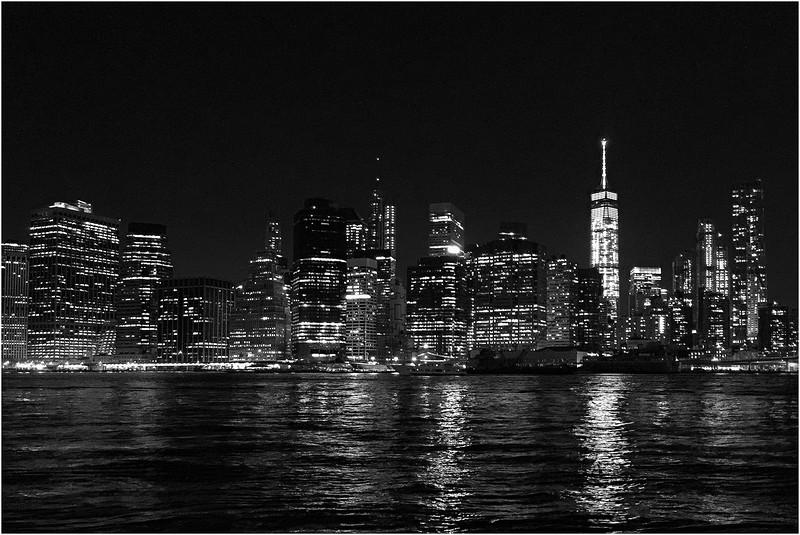 Manhattan from Brooklyn Bridge Park. October 10, 2015.