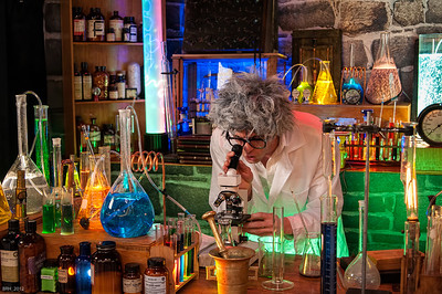 The Mad Scientist at Photoplus 2012