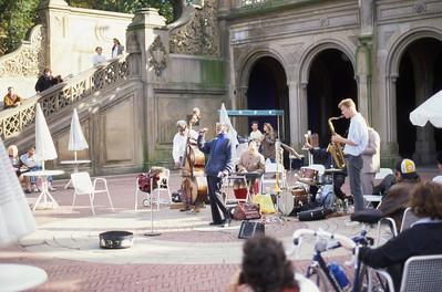 Jazz Gig in Central Park