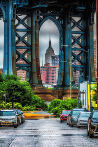 Manhattan St. , DUMBO, Empire State Building
