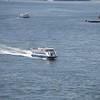 Boat in NY harbor