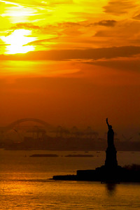 Liberty  Sunset