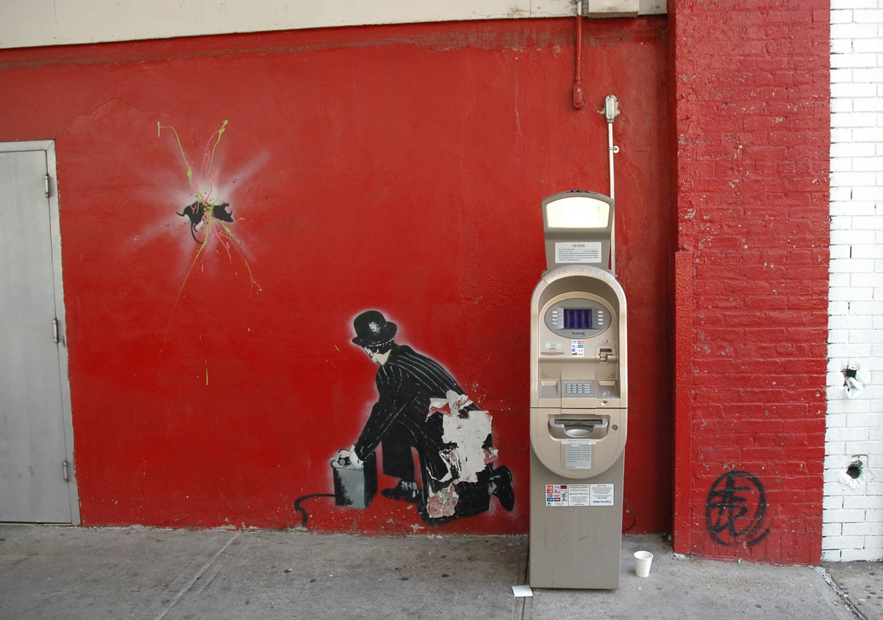ATM in the Meat Packing district.
