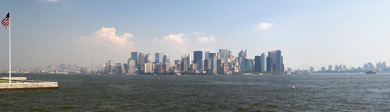 Harbor view, New York City.