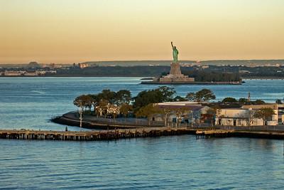Governors Island and Liberty Island