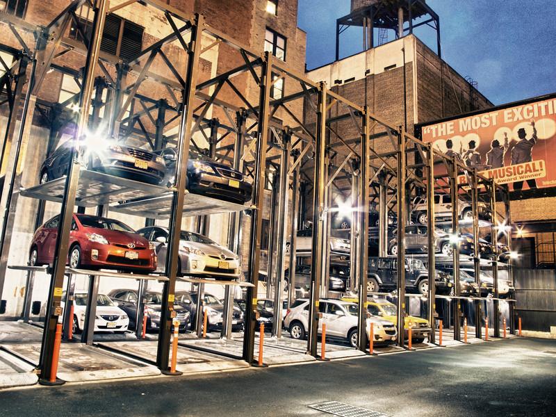 Where cars go to sleep in NY