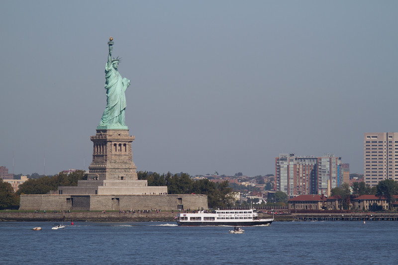 "Statute of Liberty from Staten island Ferry <a href=""http://wklein.smugmug.com/Travel/New-York-City"">http://wklein.smugmug.com/Travel/New-York-City</a>"