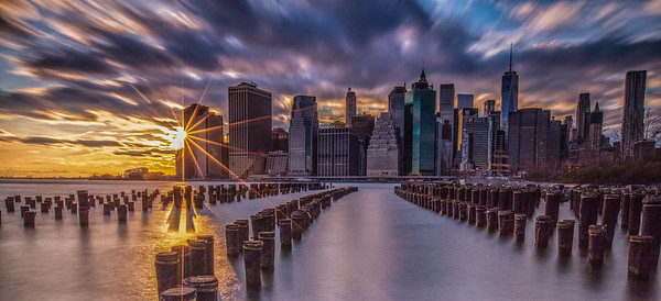 Brooklyn Bridge Park, Sunset