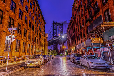 Manhattan St. , DUMBO, Dawn