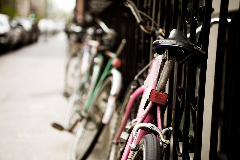 Bikes, New York City,